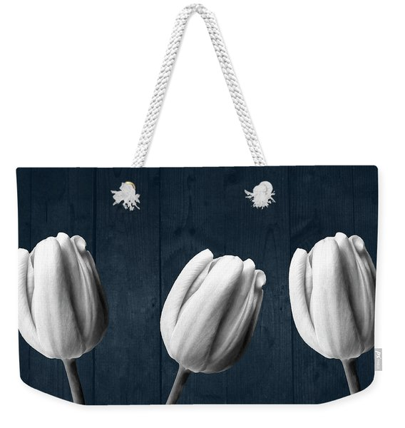 Tulips And Wood Weekender Tote Bag