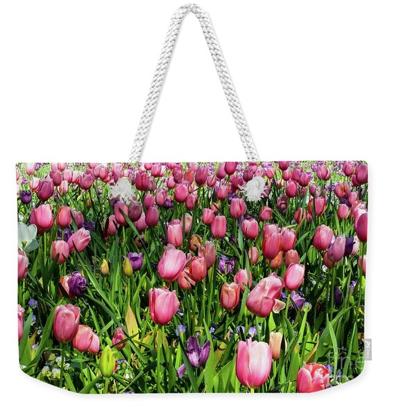Tulips In Bloom Weekender Tote Bag