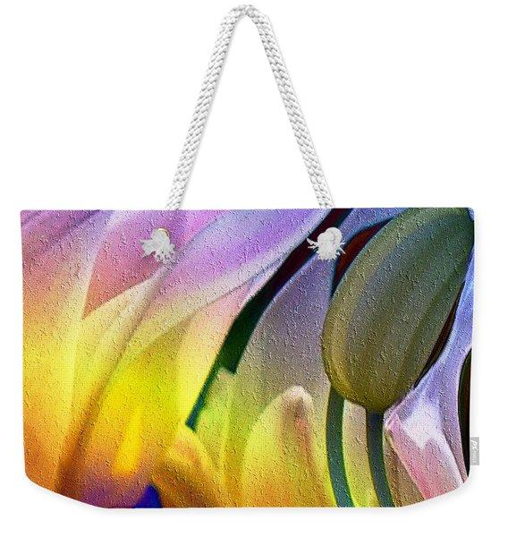Tulips Secret Weekender Tote Bag