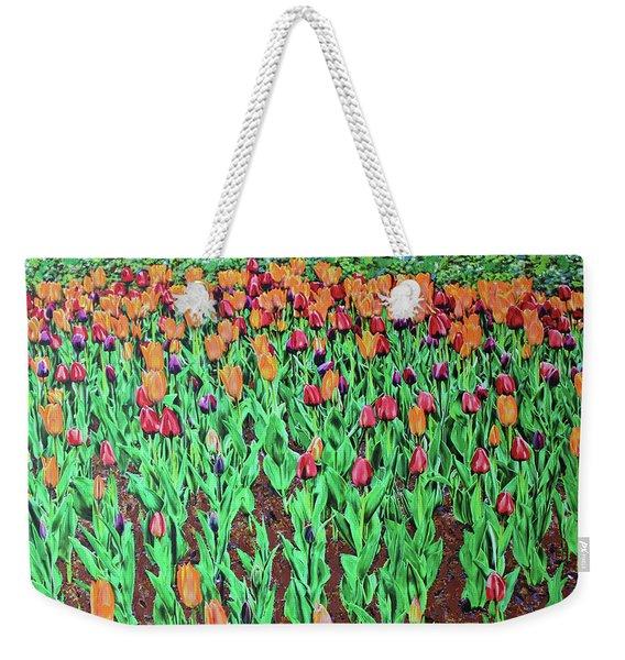 Tulips Tulips Everywhere Weekender Tote Bag