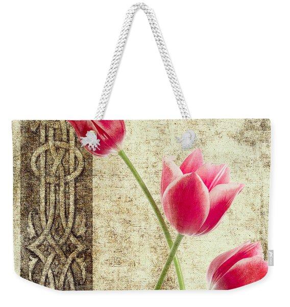 Tulips Vintage  Weekender Tote Bag