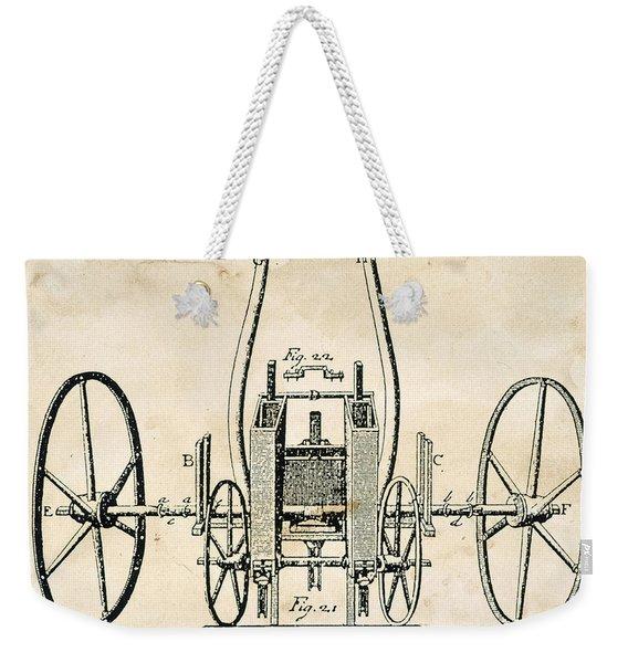 Tull: Seed Drill, 1701 Weekender Tote Bag