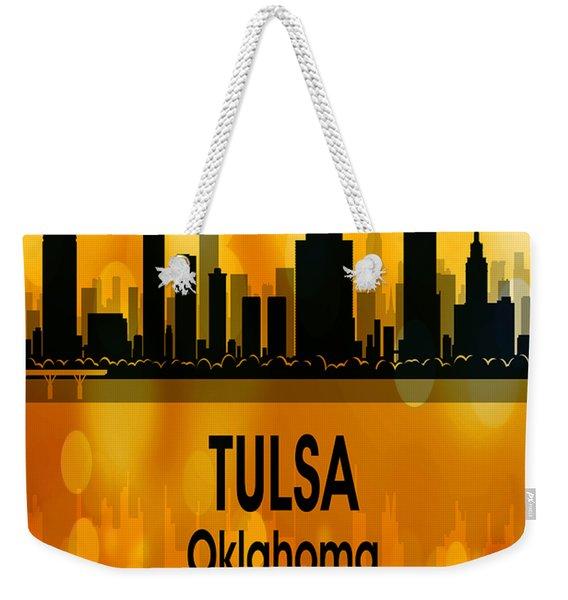 Tulsa Ok 3 Vertical Weekender Tote Bag