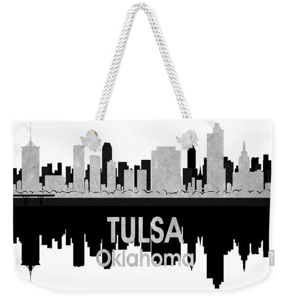 Tulsa Ok 4 Squared Weekender Tote Bag