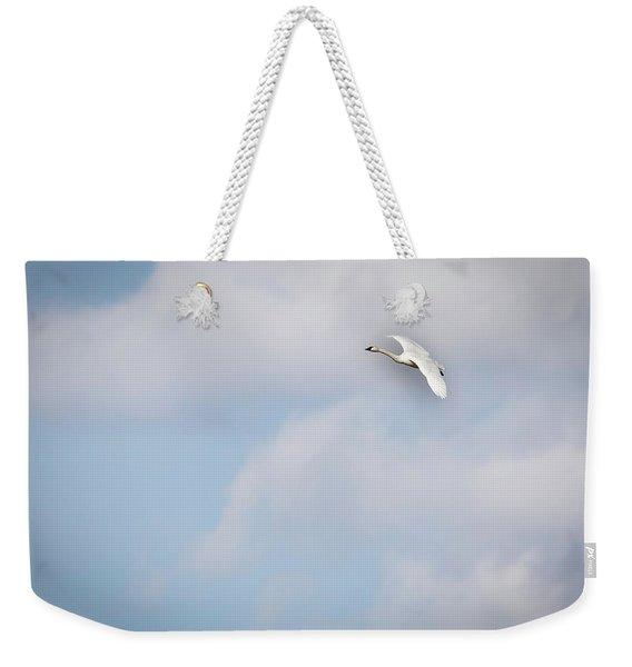 Tundra Swan 2015-8 Weekender Tote Bag