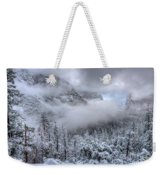 Tunnel View Yosemite National Park Ansel Adams Weekender Tote Bag