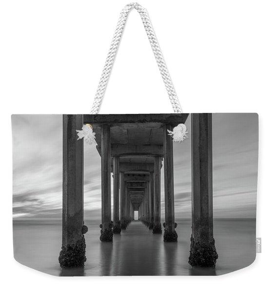 Tunnel Vision Bw  Weekender Tote Bag