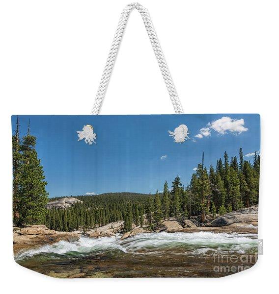 Tuolumne River  Weekender Tote Bag
