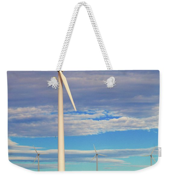 Turbine Formation Weekender Tote Bag