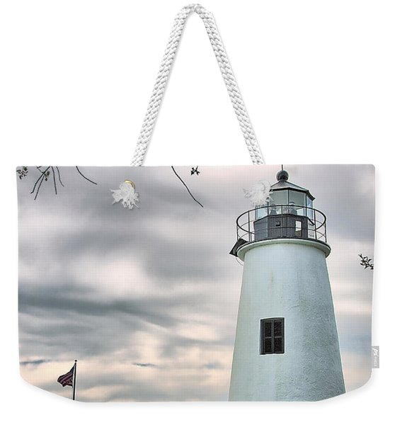 Turkey Point Lighthouse Weekender Tote Bag