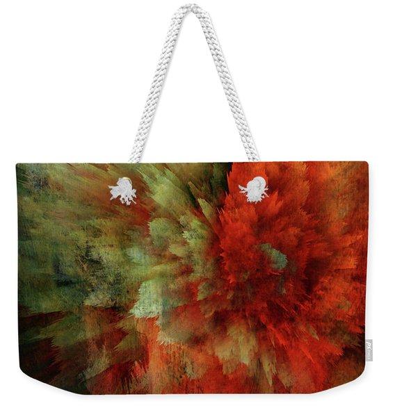 Turmoil Weekender Tote Bag