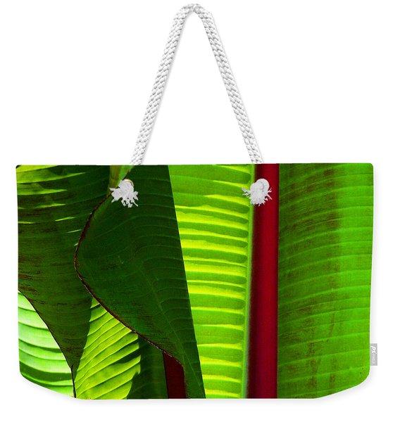 Turning A New Leaf Weekender Tote Bag