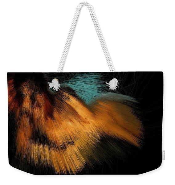 Turquoise Dunes Weekender Tote Bag