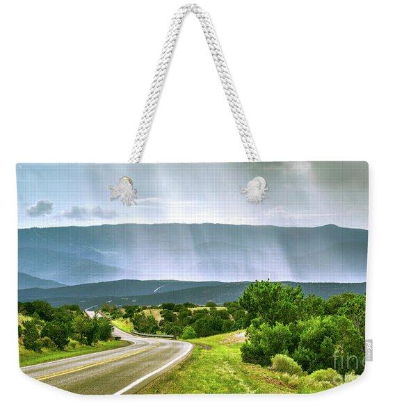 Turquoise Trail Weekender Tote Bag