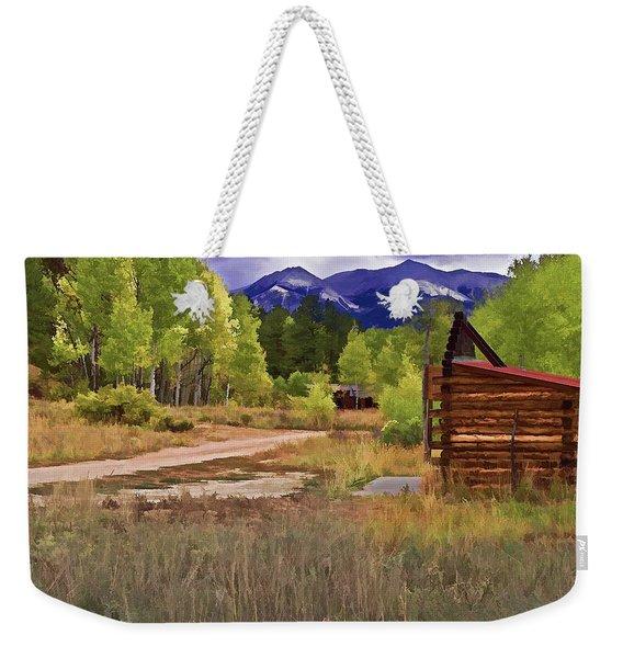 Turrett - Colorado Ghost Town Weekender Tote Bag