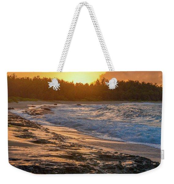 Turtle Bay Sunset 3 Weekender Tote Bag