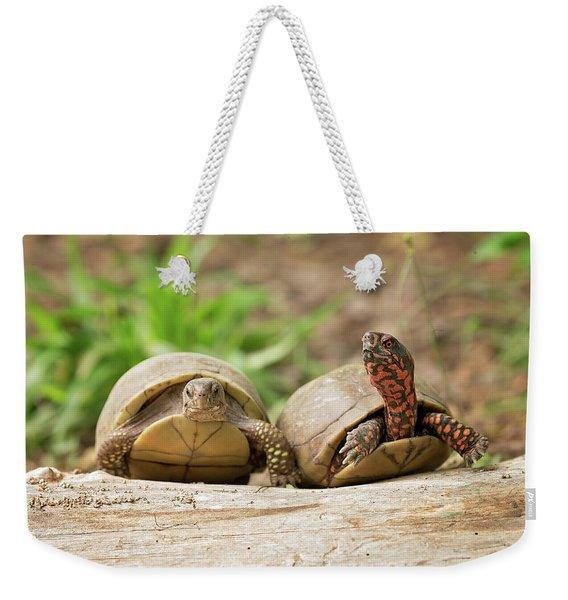 Turtle Friends Weekender Tote Bag