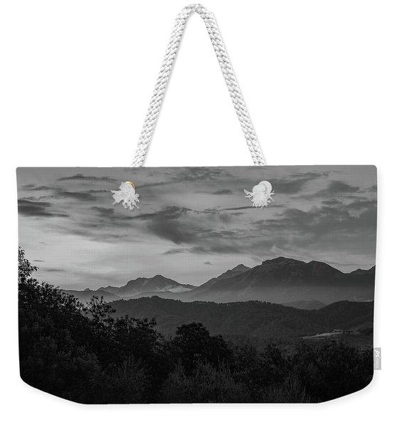 Tuscan Hills Weekender Tote Bag