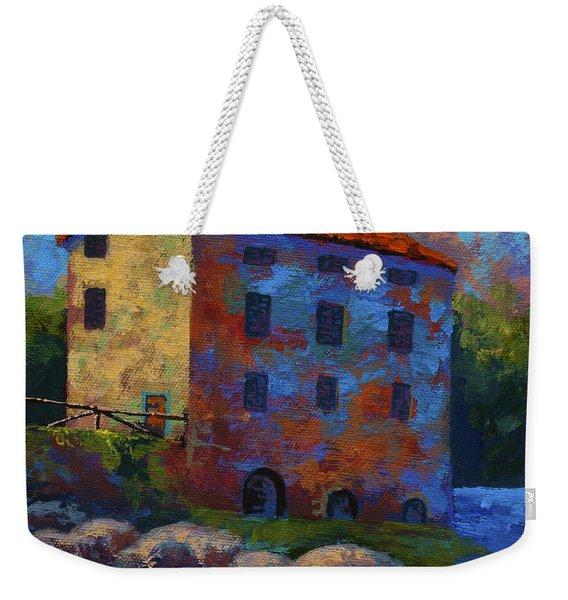 Tuscan Mill Weekender Tote Bag