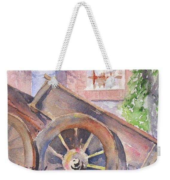 Tuscan Ox Cart Weekender Tote Bag