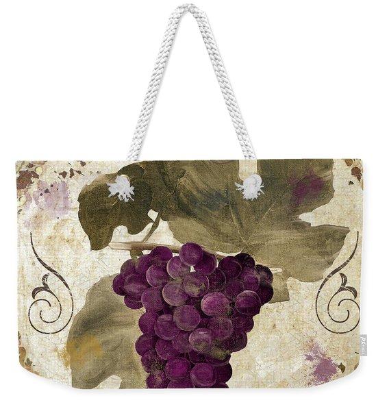 Tuscan Table Rouge Weekender Tote Bag
