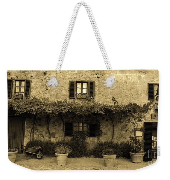 Tuscan Village Weekender Tote Bag