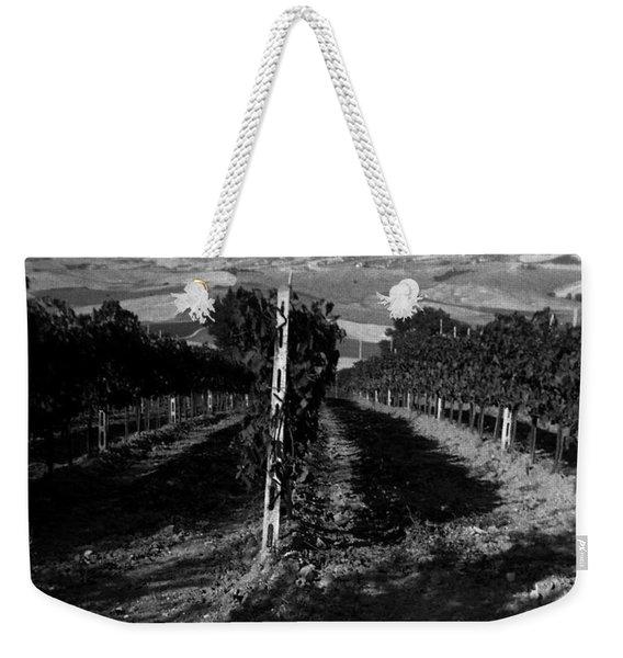 Tuscan Vineyard Weekender Tote Bag