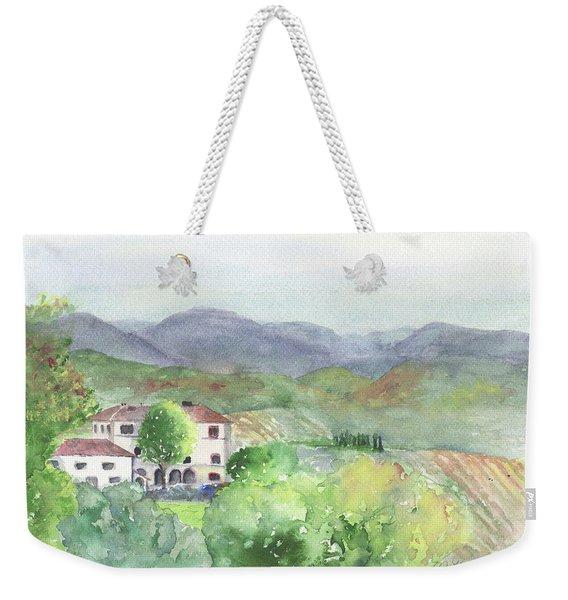Tuscan Vineyards Weekender Tote Bag