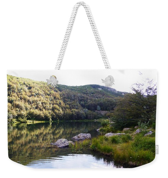 Tuscany And Water Weekender Tote Bag