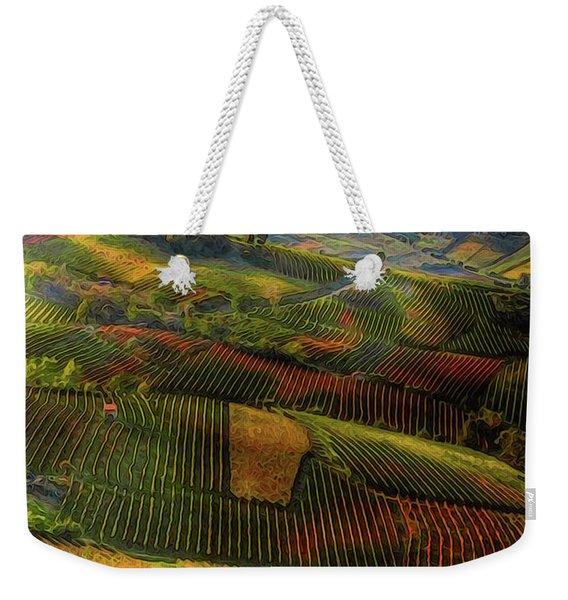 Tuscany, Italian Wineyards  Weekender Tote Bag