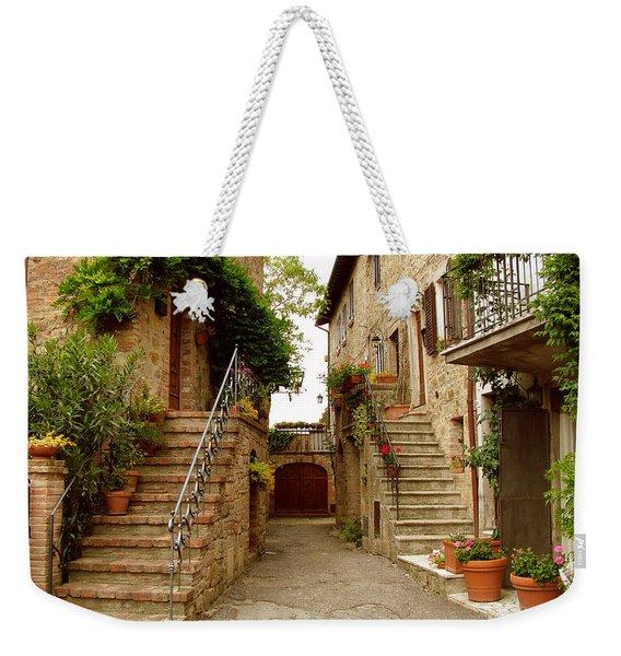 Tuscany Stairways Weekender Tote Bag