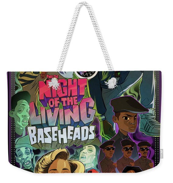 Weekender Tote Bag featuring the digital art Twas The Night... by Nelson dedos Garcia