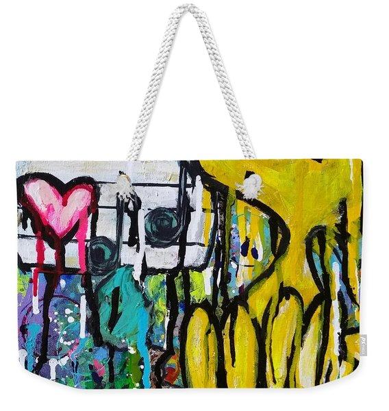 Tweet.love Weekender Tote Bag