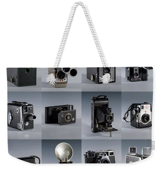 Twenty Old Cameras - Color Weekender Tote Bag