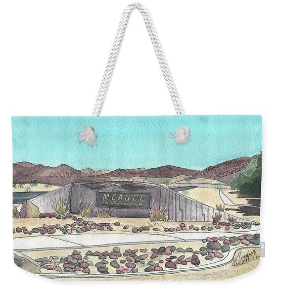 Twentynine Palms Welcome Weekender Tote Bag