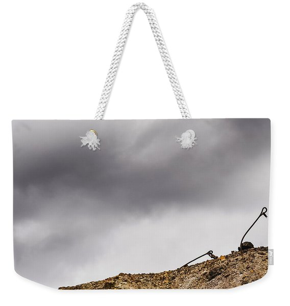 Twice Bent Weekender Tote Bag