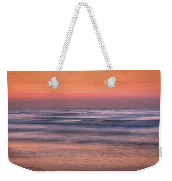 Twilight Abstract Weekender Tote Bag