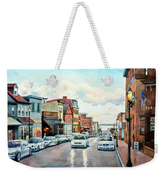 Twilight Annapolis Weekender Tote Bag