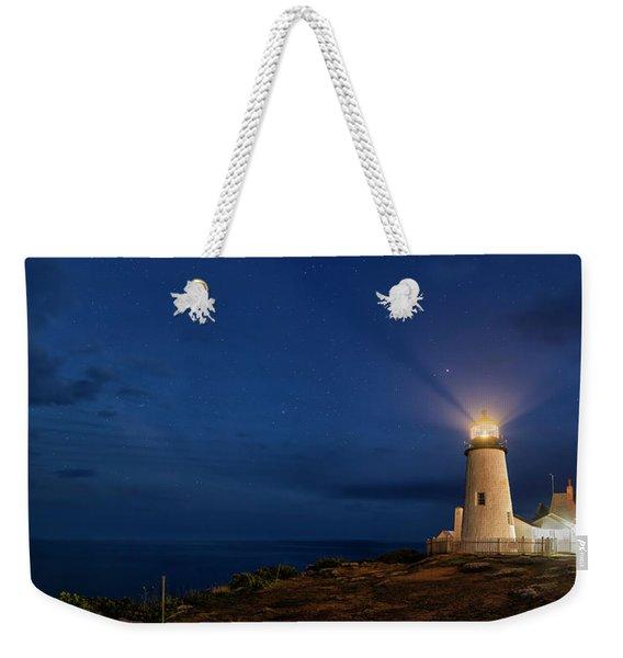 Twilight At Pemaquid Light Weekender Tote Bag