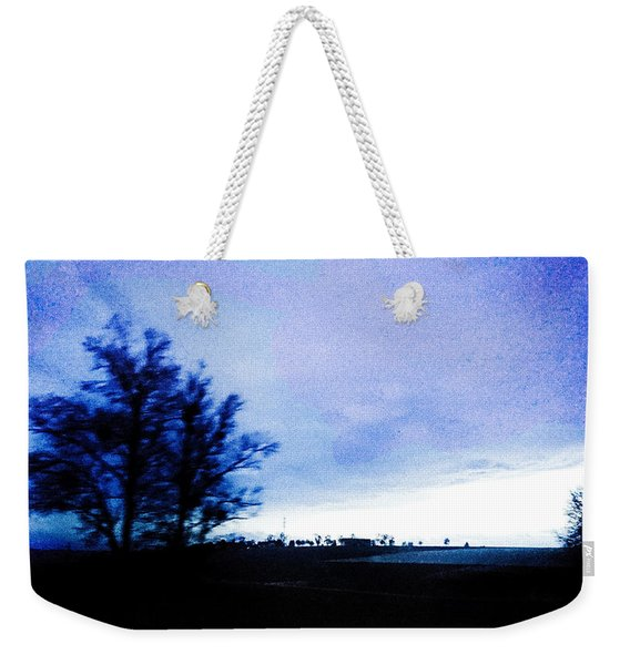 Weekender Tote Bag featuring the photograph Twilight  by Bee-Bee Deigner