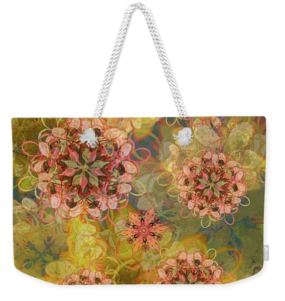 Twilight Blossom Bouquet Weekender Tote Bag
