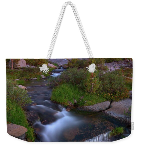 Twilight Cascade Weekender Tote Bag