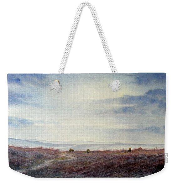 Twilight Settles On The Moors Weekender Tote Bag