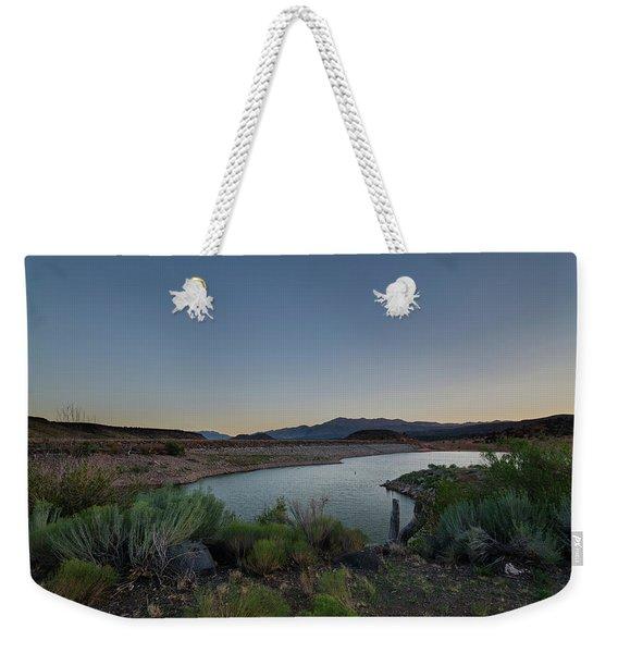 Twilight In The Desert Weekender Tote Bag