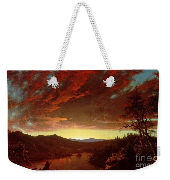 Twilight In The Wilderness Weekender Tote Bag