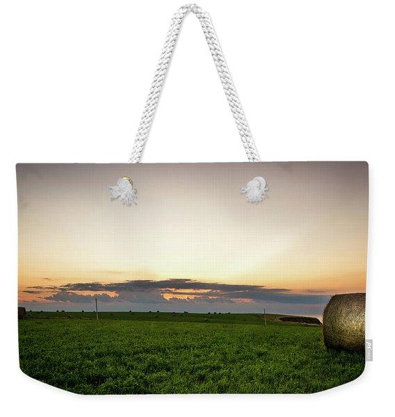 Twilight Prince Edward Island Fields Weekender Tote Bag