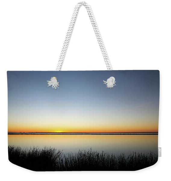 Twilight Stillness Down By The Beach Lagoon Weekender Tote Bag