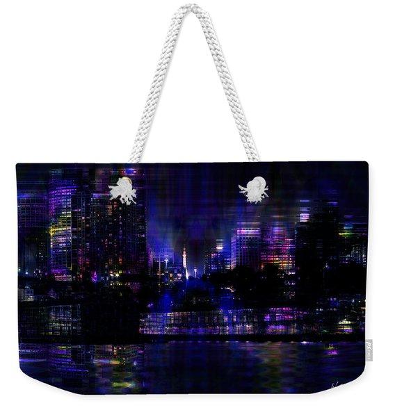 Twilight Time Weekender Tote Bag