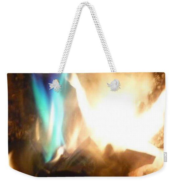Twin Flame Weekender Tote Bag