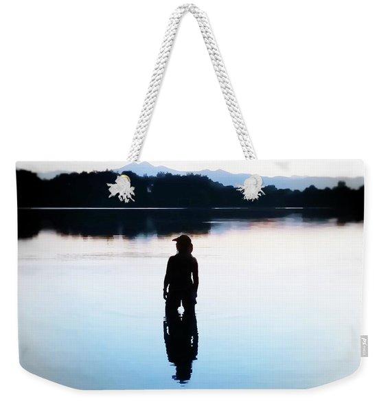 Twin Peaks Silhouette Weekender Tote Bag